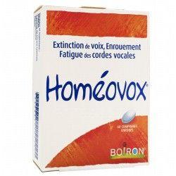 HOMEOVOX Comprimés à sucer Boite de 60