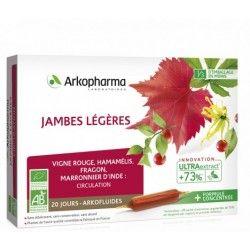 ARKOPHARMA Arkofluides Jambes légères Boite de 20 ampoules