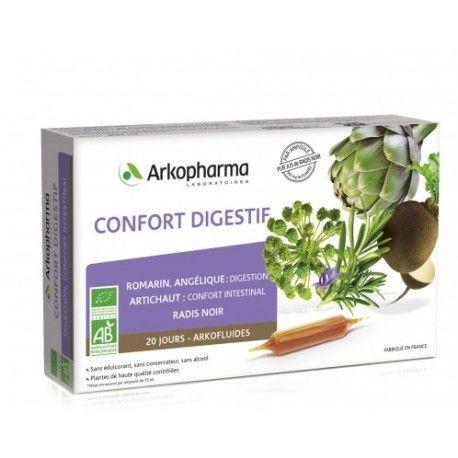 ARKOPHARMA Arkofluides Confort digestif Boite de 20 ampoules