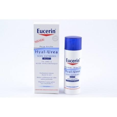 EUCERIN HYAL-UREA Crème de nuit soin Flacon pompe de 50ml