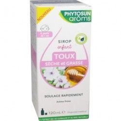PHYTOSUN AROMS Sirop pour enfant Toux sèche et grasse Flacon de 120 ml