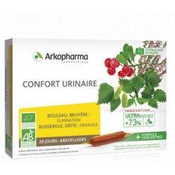 ARKOPHARMA Arkofluide BIO Confort Urinaire BOite de 20 ampoules