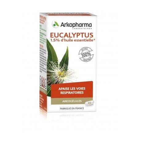 ARKOGELULES Eucalyptus Boite de 45 capsules