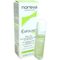 NOREVA EXFOLIAC Soin anti imperfections action ciblée Roll'on de 5 ml