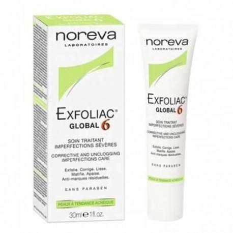 NOREVA Exfoliac Global 6 Tube de 30 ml