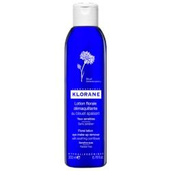 KLORANE Lotion florale démaquillante au bleuet apaisant Flacon de 200 ml