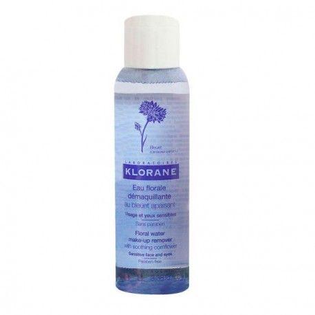 KLORANE Eau florane démaquillante au bleuet apaisant Flacon de 100 ml