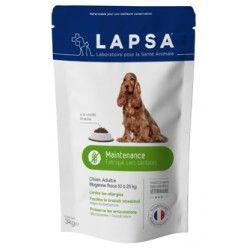 LAPSA Croquette MAINTENANCE chiens adultes de 1 à 7 ans DE 10 à 25 kilos Sachet de 3kilos