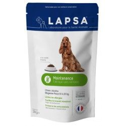 LAPSA Croquette MAINTENANCE chiens adultes de 1 à 7 ans DE 10 à 25 kilos Sachet de 15 kilos