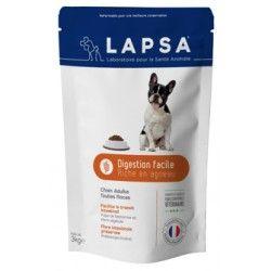 LAPSA Croquettes chiens adultes toutes races DIGESTION FACILE Sachet de 3 kilos