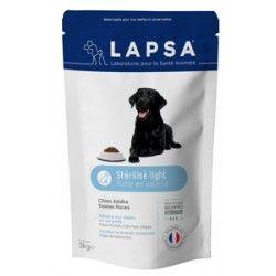 LAPSA Croquettes chiens adultes toutes races  STERILISE LIGHT Sachet de 3 kilos