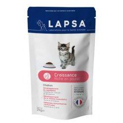 LAPSA Croquettes CROISSANCE pour chatons Sachet de 2kg