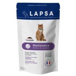 LAPSA Croquettes MAINTENANTCE pour chats adultes Sachet de 2kg
