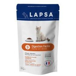 LAPSA Croquettes SANTE URINAIRE pour chat stérilisé ou non Scahet de 2 kilos