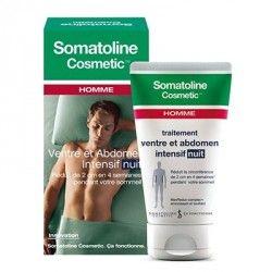 SOMATOLINE traitement Ventre et Abdomen intensif Nuit Homme Fl/150ml