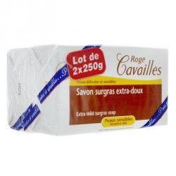 ROGE CAVAILLES Savon surgras 2 pains de 250 g