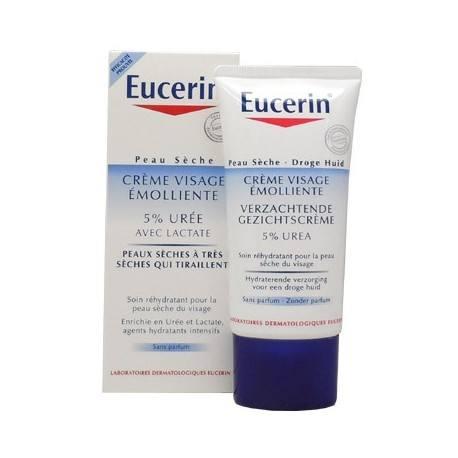 EUCERIN 5% d'Urée Cr visage /50ml