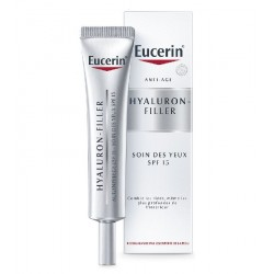 EUCERIN HYALURON-FILLER Crème soin comblement des rides Contour des yeux tube de 15ml