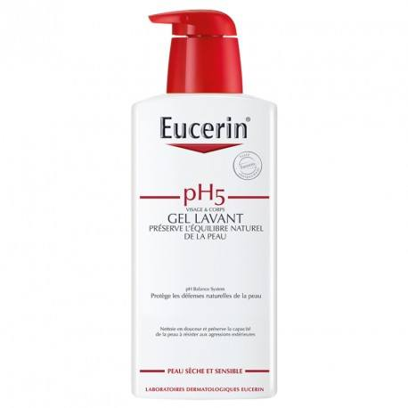 EUCERIN P SENS pH5 Gel lav Fl/400ml