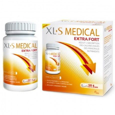 XLS Medical Extra Fort Boite de 120 comprimés + 40 comprimés offert