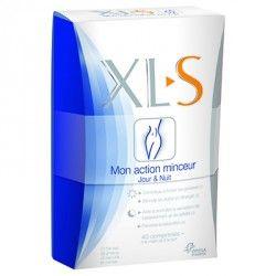 XL-S Mon action minceur Jour et nuit Boite de 40 comprimés