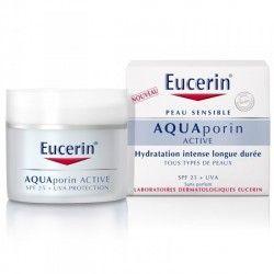 EUCERIN AQUAporin ACTIVE Soin Hydratatation intense Tous types de peaux SPF 25 Pot de 50 ml