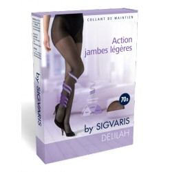 SIGVARIS DELILAH Collant de maintien 70D Transparent