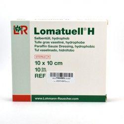 LOHMANN Lomatuell H Tulle gras 10 x 10 cm Boite de 10