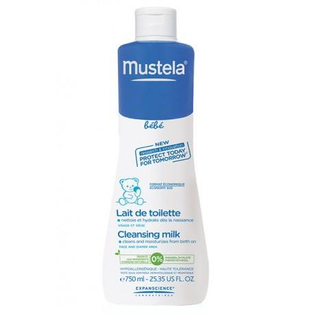 MUSTELA BB Lait toil Fl/750ml