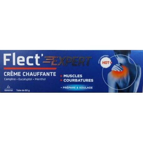 FLECT'EXERT Crème chauffante Tube de 60 grammes