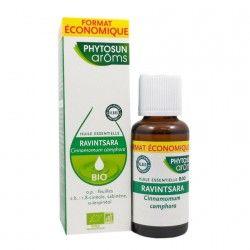 PHYTOSUN AROMS Huile essentielle RAVINTSARA  BIO Flacon de 30 ml