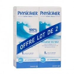 PHYSIOMER Solution nasale Adulte/enfant Lot de 2 Flacons de 135ml