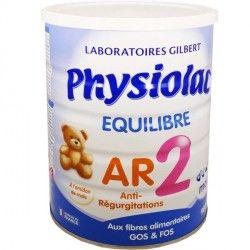 PHYSIOLAC 2 FIBREA+ Lait pdr anti-régurg 900g