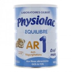 PHYSIOLAC EQUILIBRE AR 1ere âge 0 à 6 mois Boite de 900 grammes