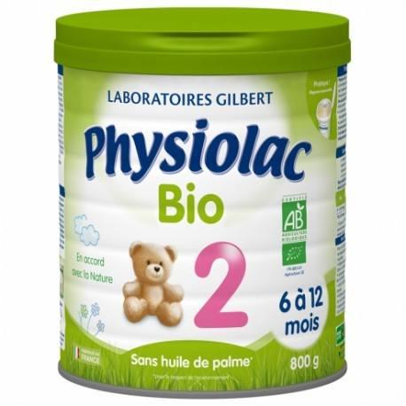 PHYSIOLAC BIO 2 Bisglyc Fer Lait pdr B/900g