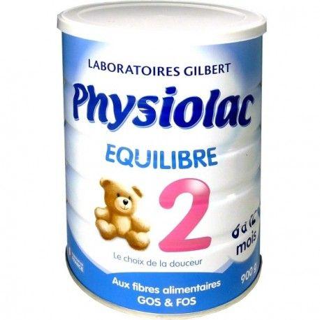 PHYSIOLAC Relais 2ème age Boite de 900 g