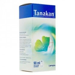TANAKAN Extrait de Gingko Biloba Flacon de 90 ml