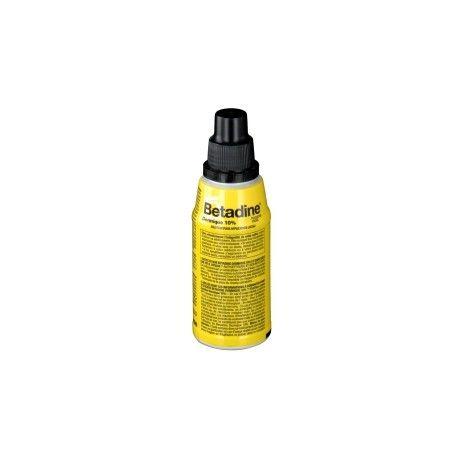 BETADINE Dermique 10 % povidone iodée Flacon de 125 ml