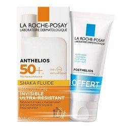 LA ROCHE POSAY Anthelios SHAKA FLUIDE 50 + Tube de 50 ml posthelios offert