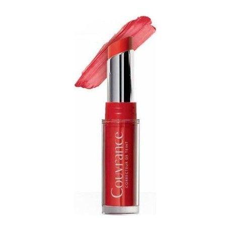AVENE COUVRANCE  Baume embelisseur lèvres SPF20 rouge éclat Stick de 3 grammes