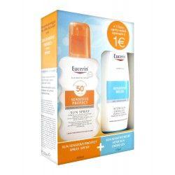 EUCERIN Coffret Sun Spray 30 + Huile de douche offerte