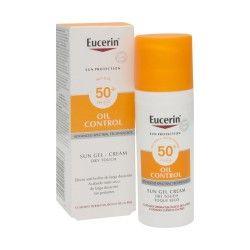 EUCERIN SUN Oil Control Gel crème SPF50+ Tube de 50 ml