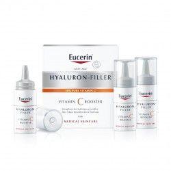EUCERIN Hyaluron Filler Vitamine c Booster Boite de 3 Flacons de 8 ml
