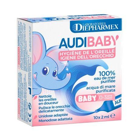 AUDIBABY Hygiène de l'oreille Boite de 10 unidoses