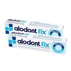 ALODONT Fixe Crème fixative hypoallergénique Lot de 2 Tubes de 50 grammes