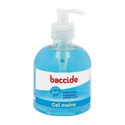 BACCIDE Gel hydroalcoolique pour les mains flacon pompe de 300 ml