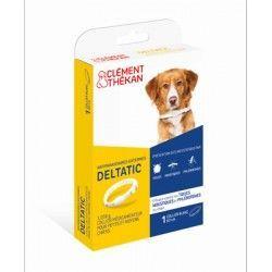 CLEMENT THEKAN DELTATIC Collier antiparasitaires petit et moyen chien (0-25kg) 60 cm