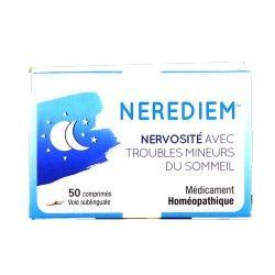 NEREDIEM Médicament homéopathique Nervosité et troubles du sommeil