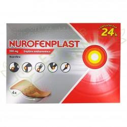 NUROFENPLAST 200 Mg Boite de 4 emplâtre médicamenteux