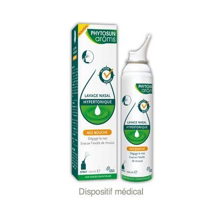 PHYTOSUN AROMS Lavage nasal hypertonique Spray de 100 ml